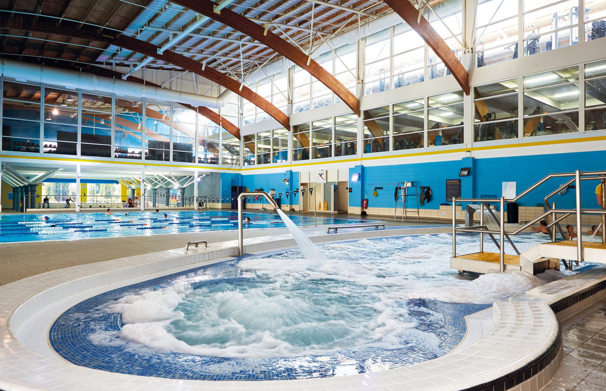 Wilmslow total fitness for Hydroponic pool