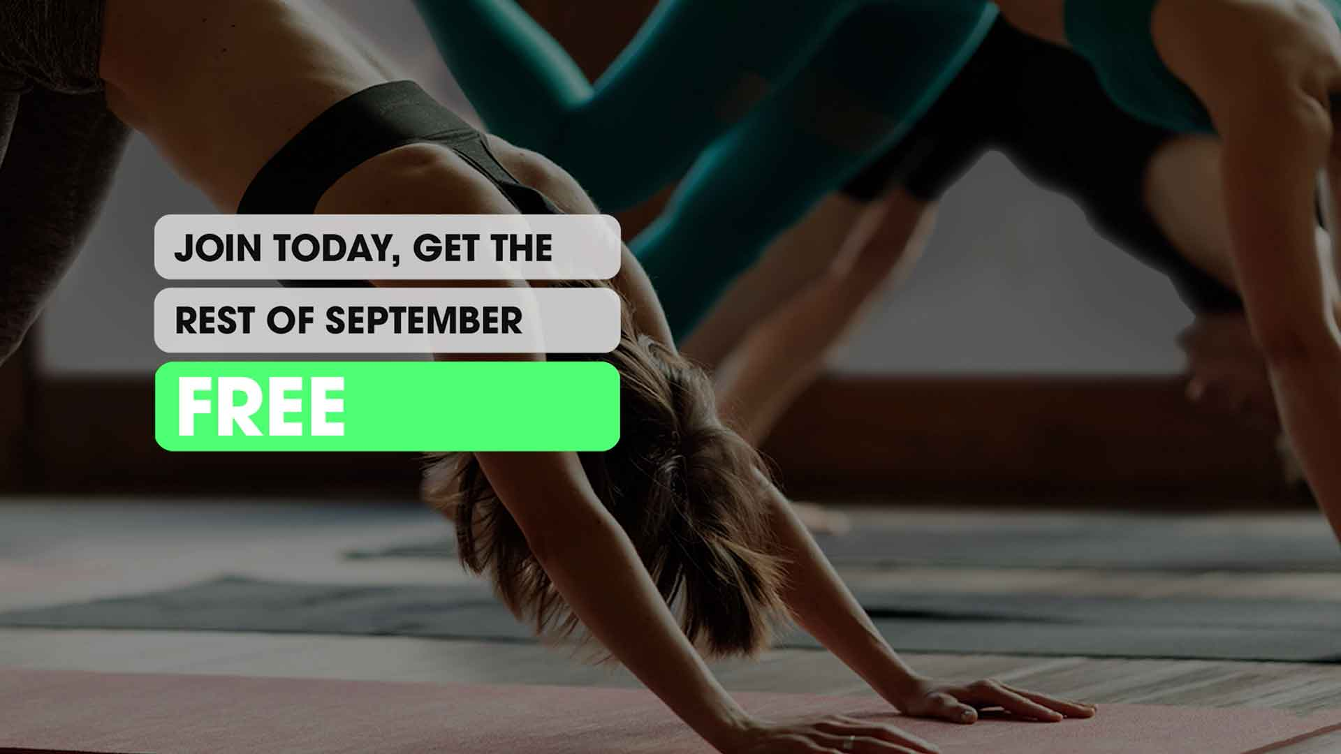 Total Fitness | Get September Free | Offer Ends 30th